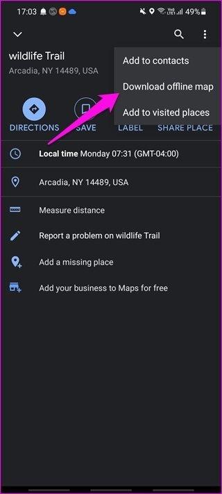 Comment utiliser Google Maps hors ligne sur Android et i OS 3