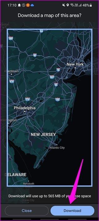 Comment utiliser Google Maps hors ligne sur Android et i OS 6