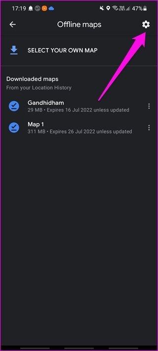 Comment utiliser Google Maps hors ligne sur Android et i OS 9