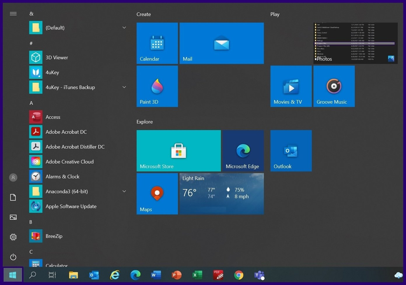 Guide d'utilisation de l'assistance rapide sur Windows 10 étape 3