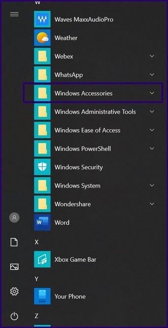 Guide d'utilisation de l'assistance rapide sur Windows 10 étape 4