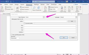 Comment ajouter des citations et une bibliographie dans Microsoft Word 3