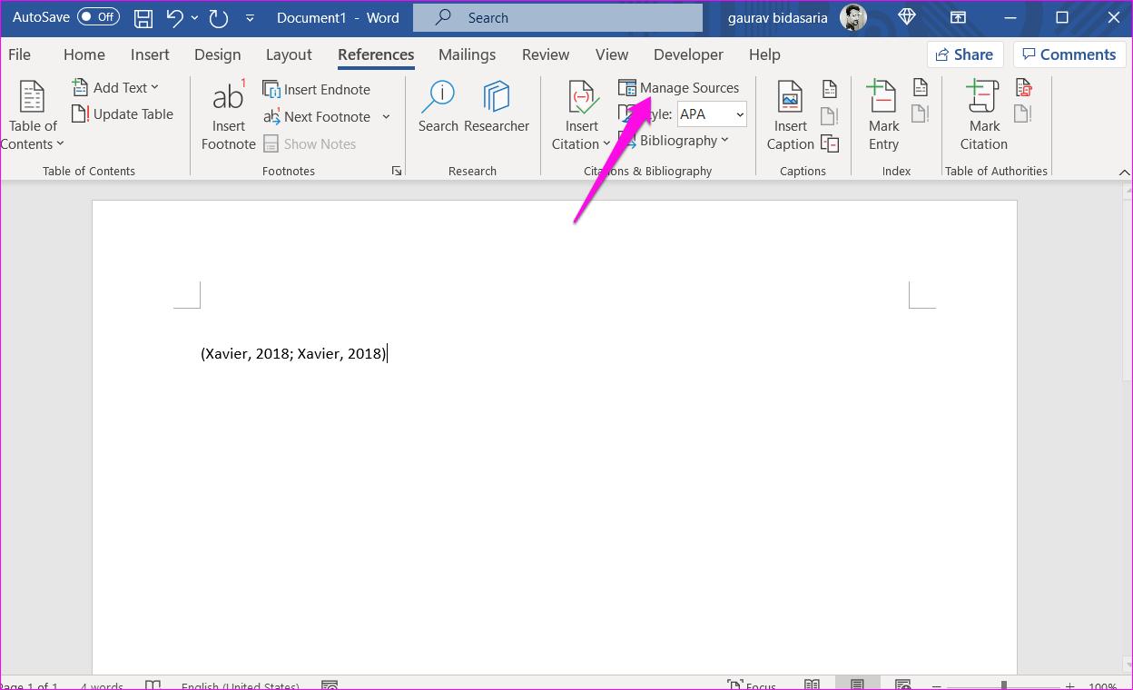 Comment ajouter des citations et une bibliographie dans Microsoft Word 6