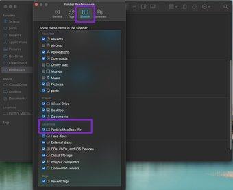 Activer votre Mac à partir des préférences du Finder