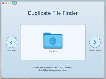 Recherche de fichiers en double