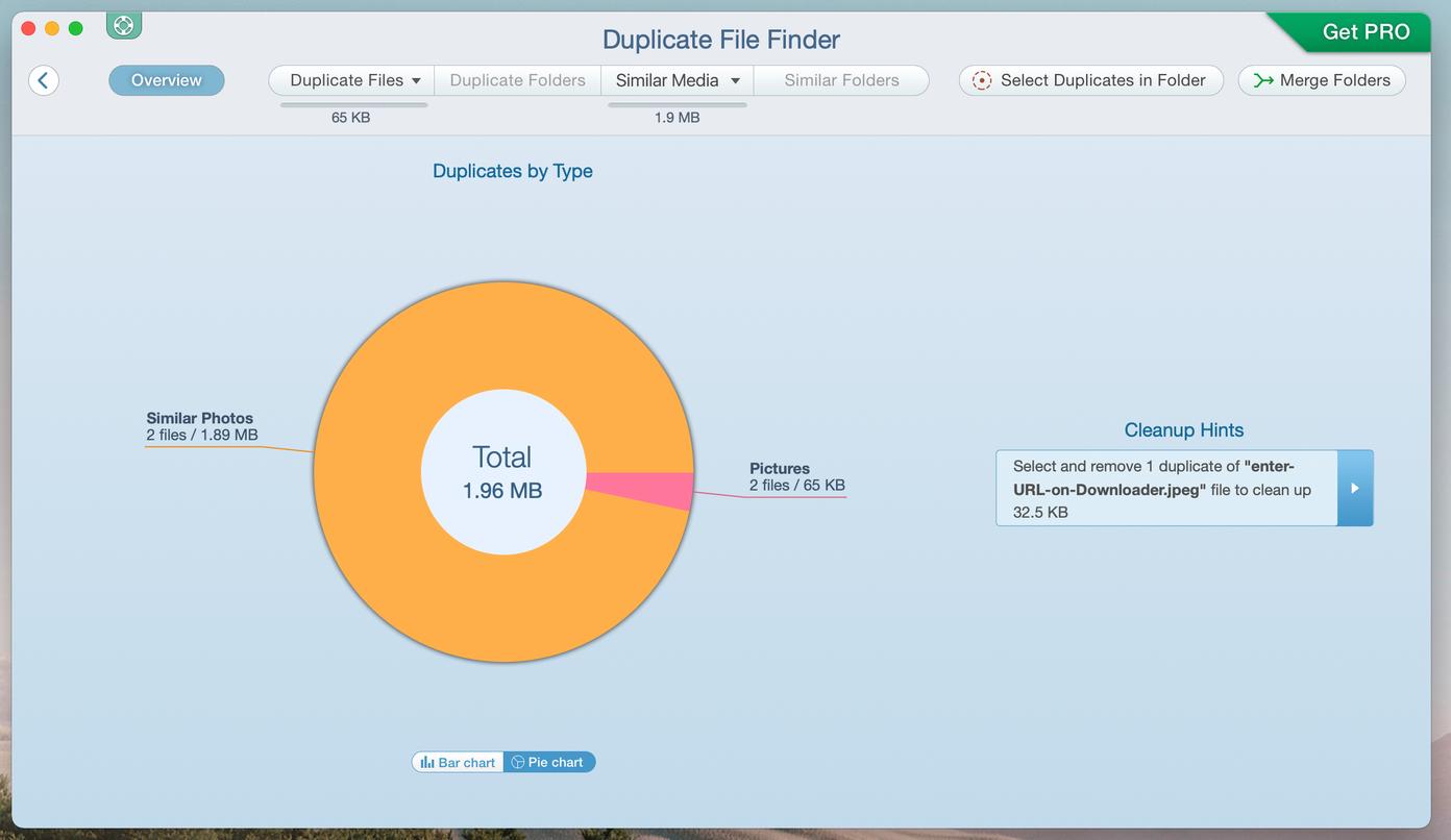 Analyse de recherche de fichiers en double