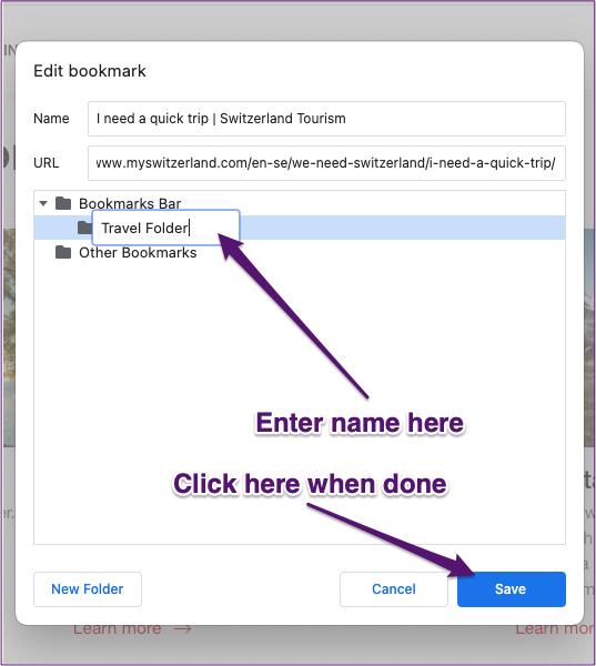 Chrome crée un nouvel onglet de groupe marqué