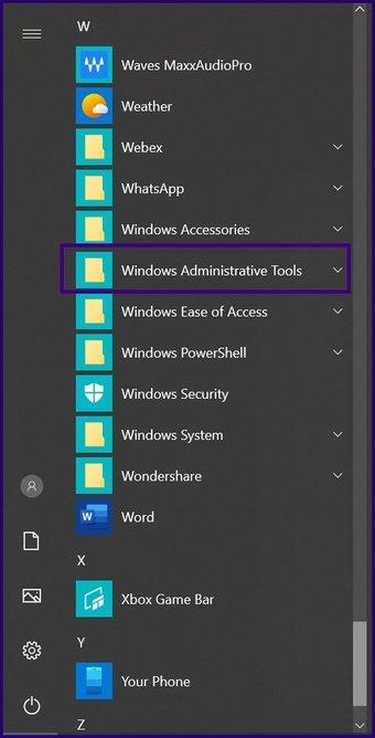 Désactiver les tâches planifiées sur Windows 10 étape 2