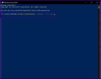 Désactiver les tâches planifiées sur Windows 10 étape 14