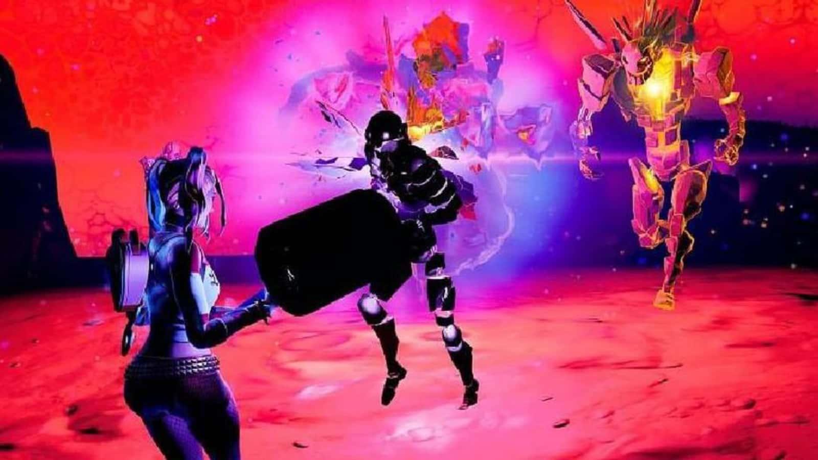 Comment éliminer Fortnite Cube Monsters in the Sideways dans la saison 8